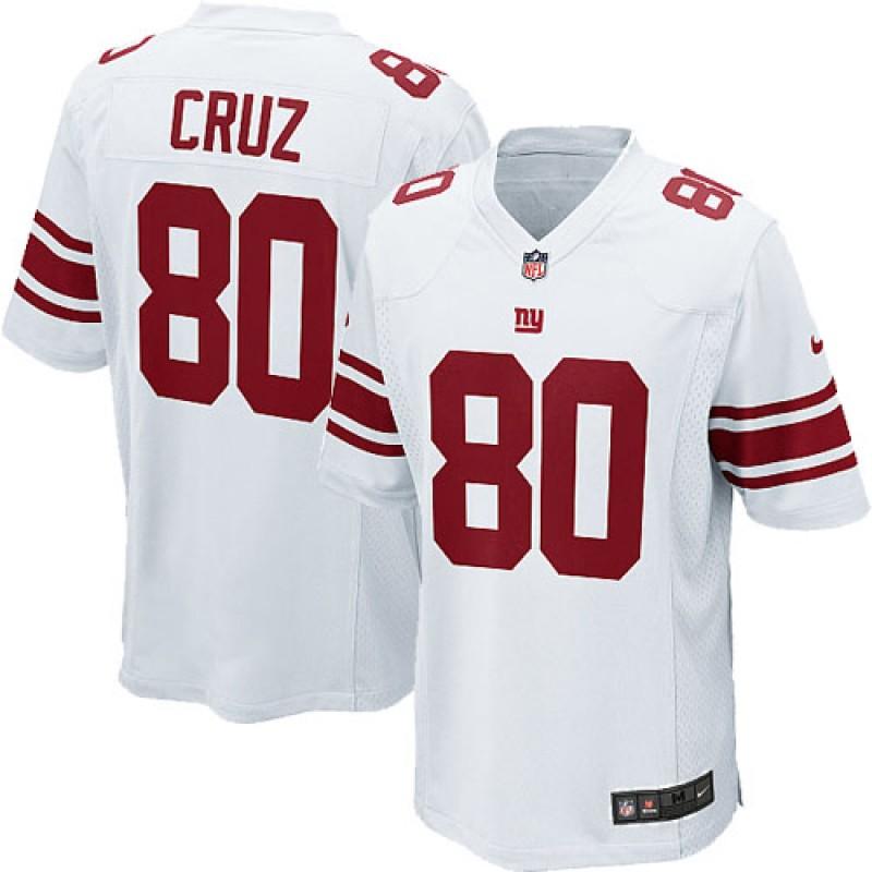 Victor Cruz, NY Giants - White/Red
